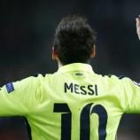 Lionel Messi Bahagia Samai Raul Gonzalez