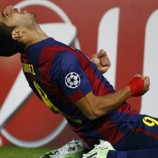 Luis Suarez Sumbang Satu Gol Kontra PSG