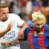 Drinkwater: Penampilan Messi Tak Bisa Dibaca