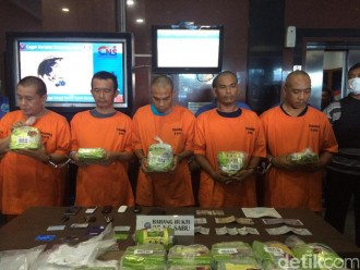 BNN Ambil Alih Rekening Bandar Sabu Toni Alias Toge