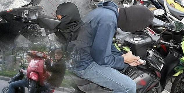 Kepergok Mencuri Motor, Seorang Pria Babak belur Dihajar Massa