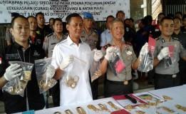 7 Perampok Emas 1kg Di Berbagai Daerah Berhasil Di Ringkus Polisi