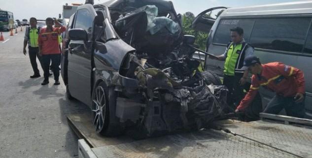 Kecelakaan Di Tol Cipalai Akibatkan 1 Orang Tewas 8 Alami Luka