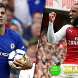 Prediksi Akurat Arsenal vs Chelsea 4 Januari 2018
