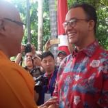 Gubernur DKI Senang Di Undang Ke Hari Raya Waisak