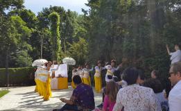 Mempererat Warga Bali Di Denmark Adakan Kuningan Di KBRI