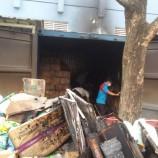 Satu Gudang Milik supermarket Besar Hangus Terbakar Di Bintaro