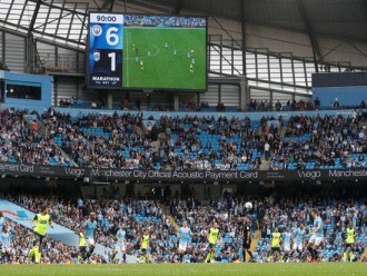 Man City Berhasil Bungkam Huddersfield Town