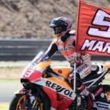 Marc Marquez Kuasai Podium Juara Seri Aragon