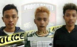 Polisi Berhasil Ringkus 3 Pemuda Yang Diduga Begal
