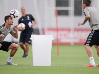 Usai Insiden Kartu Merah, Ronaldo Berlatih Bersama Juventus