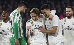 Real Madrid Kalahkan Real Betis 2-1 di Lanjutan Liga Spanyol