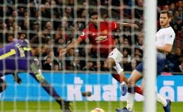 Gol Tunggal Rashford Menangkan MU atas Tottenham di Lanjutan Liga Inggris