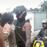 Himbauan Ditolak, Demonstran di Makassar Lakukan Pemukulan Terhadap Polisi